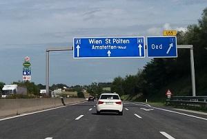 Snelweg A1, Oostenrijk