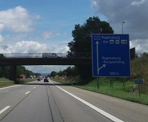 Snelweg A3 Neurenberg-Passau